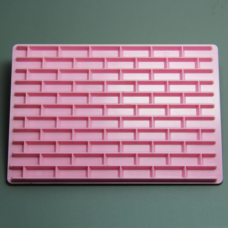 HB0978 wall and square cake stamp for cake fondant decoration