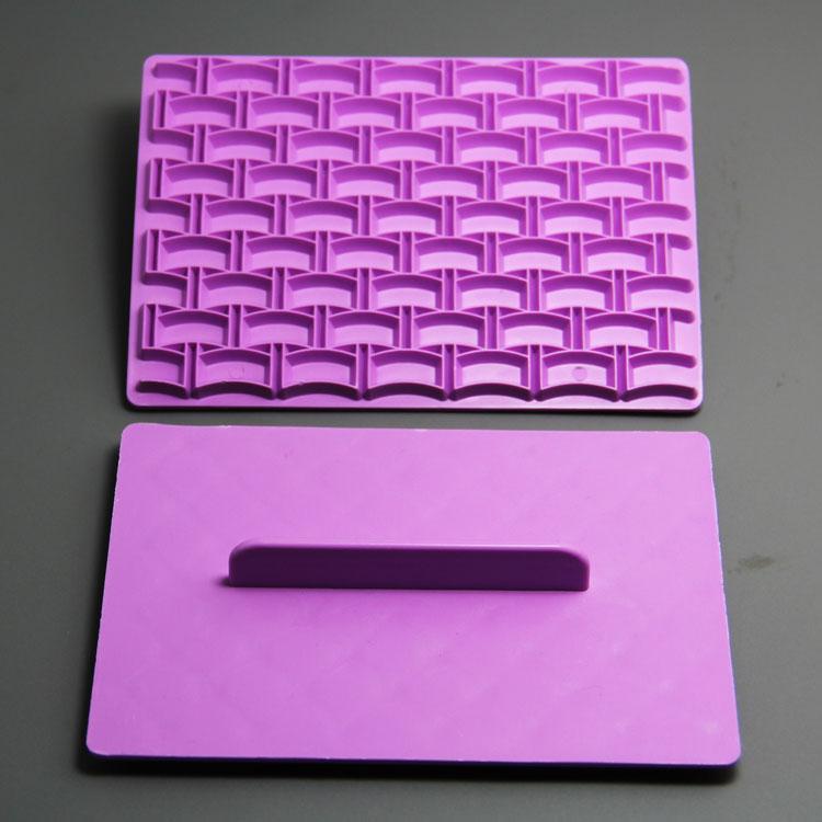 HB0979 heart and mesh cake stamp for cake decoration fondant embosser