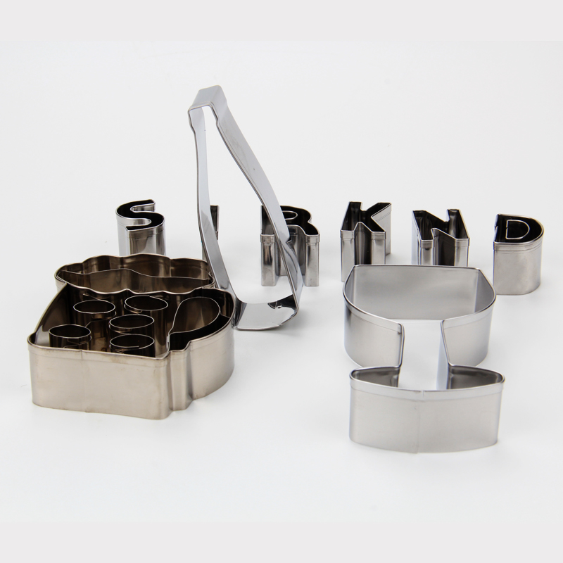 HB1079  Stainless steel Drinks Beer cookie cutters set