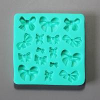 HB0877 Bowtie silicone fondant mold,Silicone Cake Fondant Mold
