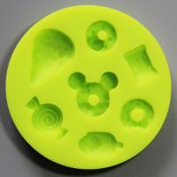 HB0801 candy silicone mold for cake fondant decorating