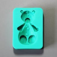 HB0891  Baby bear silicone fondant mold ,Silicone Cake Fondant Mold