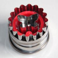 HB0425 Metal Butterfly Cutout Plunger Cutter Mold