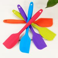 high quality Small silicone butter scraper icing cake fondant decoration baking tool
