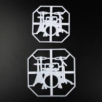 HB0311G Plastic Drum Kit Shape Press molds set