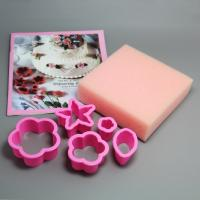 HB0322 Plastic Five Styles Biscuit Toast Mold cookie cutters set cake decoration set