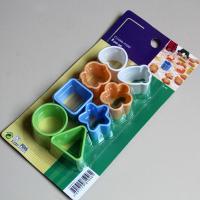 HB0375 Plastic Mini-structure cutter set Pie/Muffin Mold Gum Paste Cutter