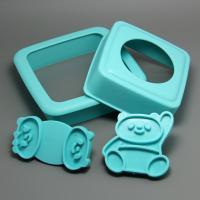 HB0603 Kungfu Panda Shape Sandwich Stamp Set,cookie cutters