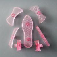 HB0627  Plastic Lady Shoes Shape Stampes set fondant embosser