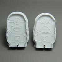 HB0699 cartoon plunger cookie cutters set biscuit mold cake decoration