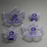 HB0743 Plastic 4pcs Grape vine shaped cookie cutters set cake fondant decorating tool
