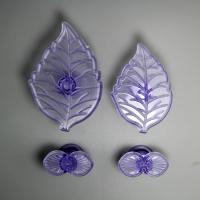 HB0758 Plastic Hydrangea shaped impressing mould Set chocolate mold