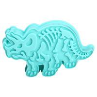HB1094P Plastic Triceratops Shapes Cake Fondant Press Mold set
